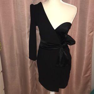NWT black mini dress